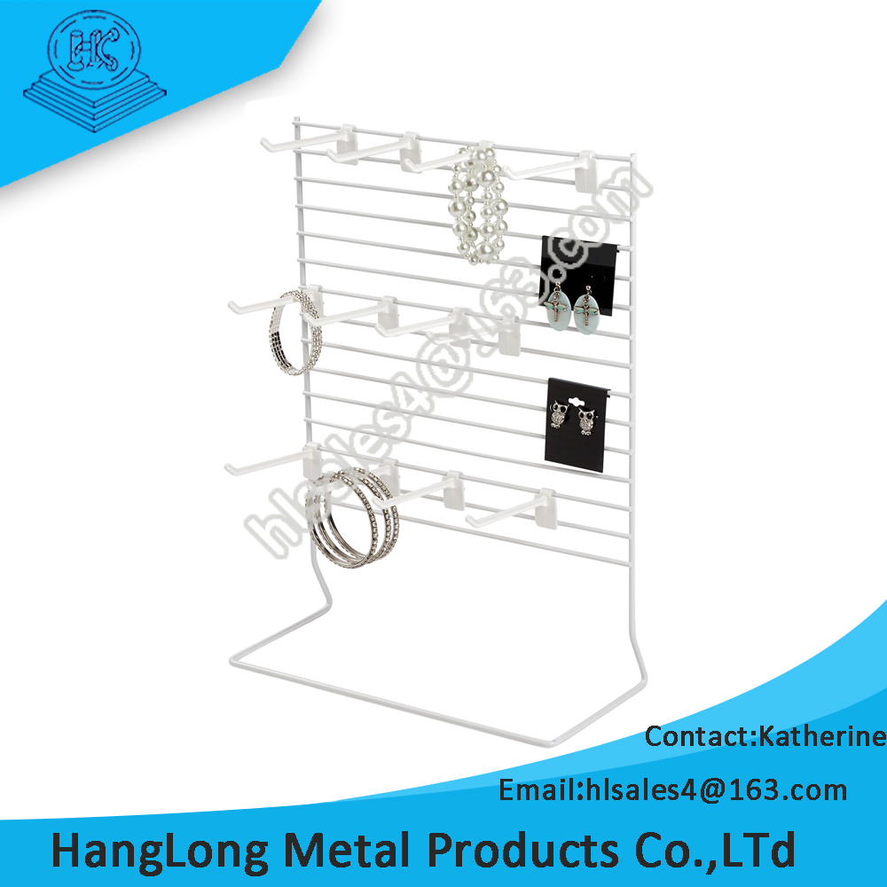 customized durable counter top hanging display racks