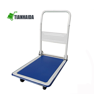 Stainless Steel Hand Truck Folding Heavy Duty Platform Trolley