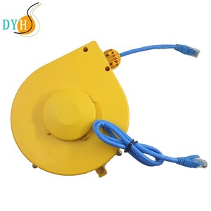 8 cores data transmission extension cord CAT6 retractable cord reel retractable cable reel box