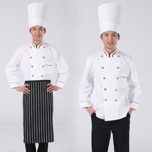 Mens Womens Chef Jacket Chef Clothing Chef Uniforms Kitchen Clothes Chef Apparel Chef Coats Buy White Long Sleeve Chef Coats Chef Jacket Chef