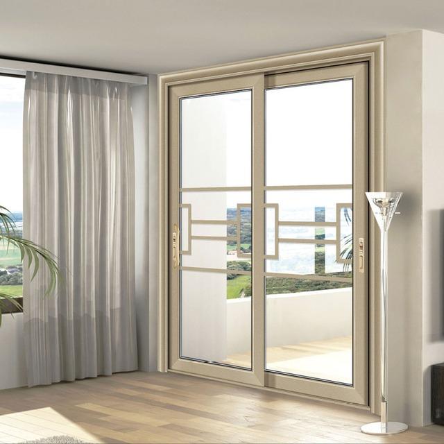Aluminium Accordion 8 Foot French Doors Seal Soundproof Door In