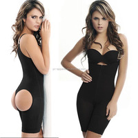 Sexy women bodysuits shaperwear underwear body shaper plus size with open crotch