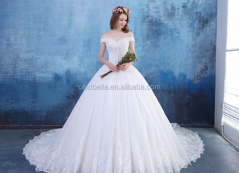 Cinderella white wedding dress