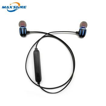 Maxshine high sound quality earphone noise cancelling 2018 best headsets blue tooth