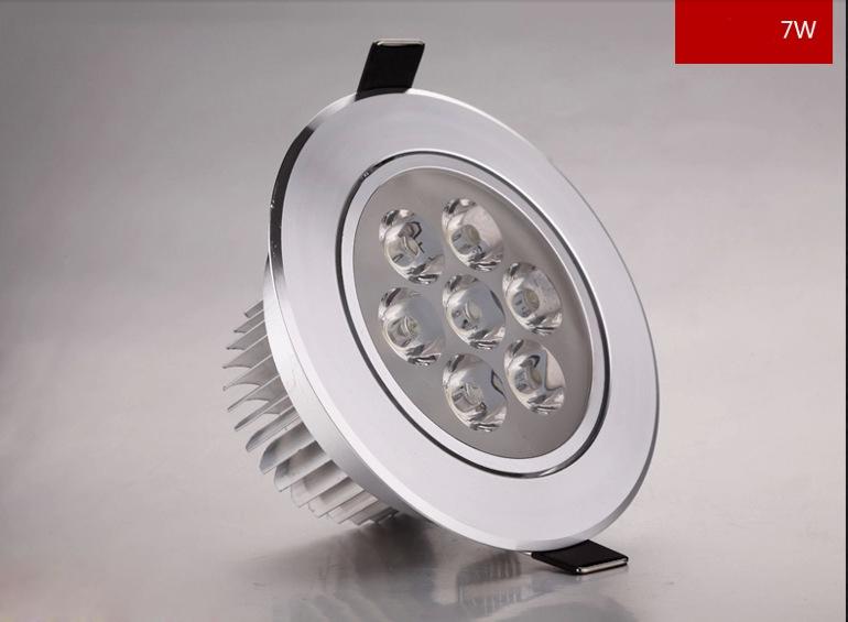 lmpara de techo de epistar led downlight w led luces para el hogar v