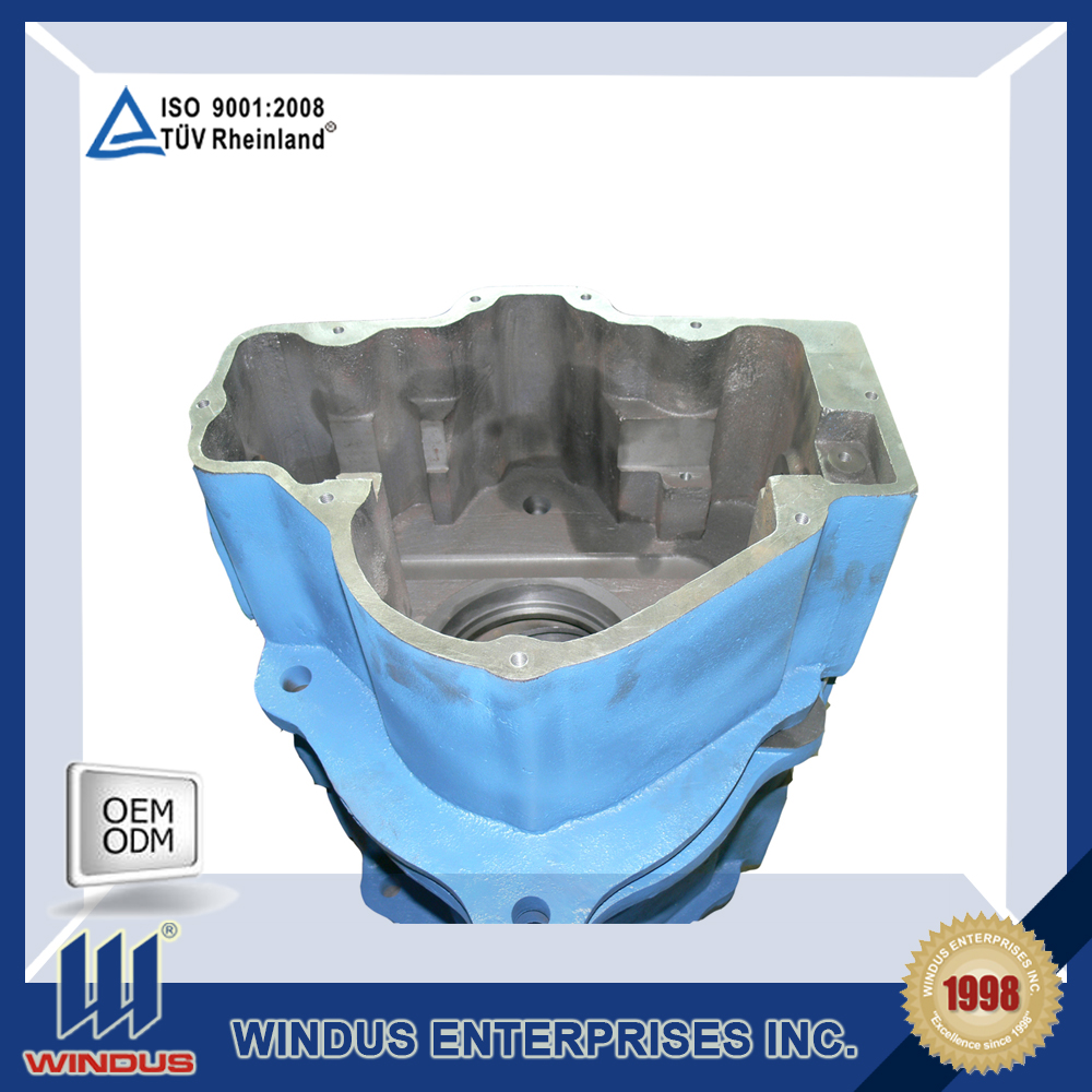low price sand casting qt500 - 7 precoated ductile iron spare parts