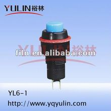 YL6-1 10mm 220v selector push button switch electronic