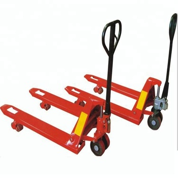 Factory supply portable Hand Operated Forklift truck