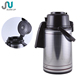 Pump system termos vacuum coffee pot with glass liner and long nose