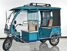 China Bajaj Passenger electric Three Wheeler Motorcycle For Taxi