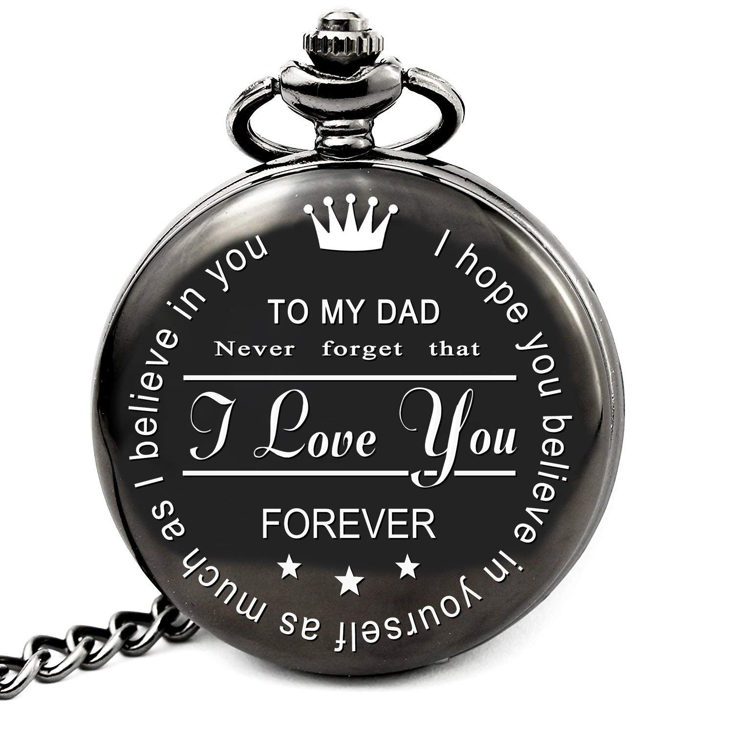 Get Quotations LEVONTA Pocket Watch Dad Gifts For Birthday From Daughter Son