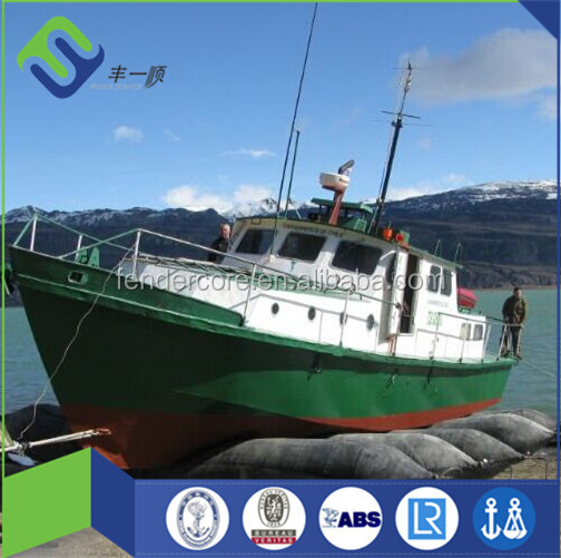Dia.1.2m x 12m Marine Airbag Use For Salvage Pontoon Boat