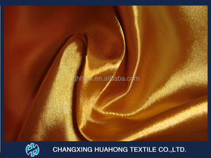 Dourable polyester dobby weave satin , china curtain fabric for upholstry