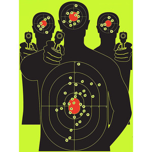 12*18 inch Wholesale Paper Targets Outdoor Shooting Practise Steel Target Pellet Catcher Air Gun Archery Paper Targets