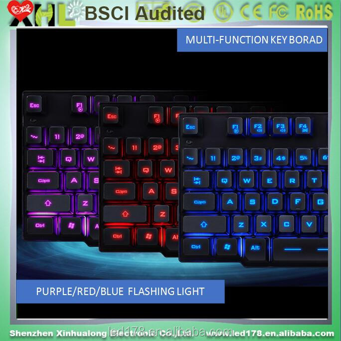 Cheap three blacklight light up gaming shenzhen mechanical keyboard