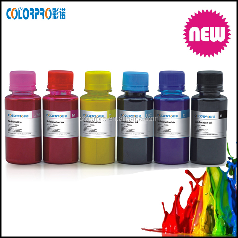 Sublimation ink cartridge refillable kit 100ml Professional True Color Sublimation ink refills for Epson WF 3420 3640 7110