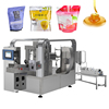 Automatic Sachet Pouch Bag Noni Iychee Juice Filling and Sealing Machine