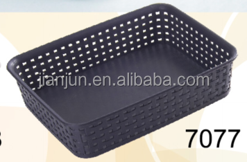 High quality Plastic Small Desktop sundries foldable storage box cosmetic organizer set