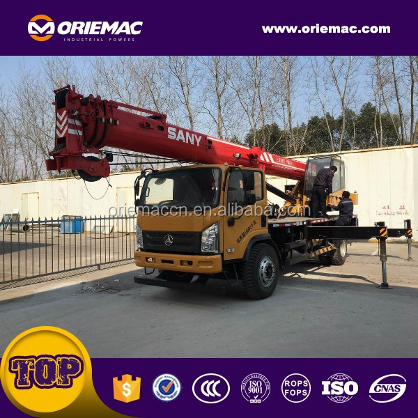 Japan used truck mounted crane lorry truck mounted crane for sale Sany STC1200S