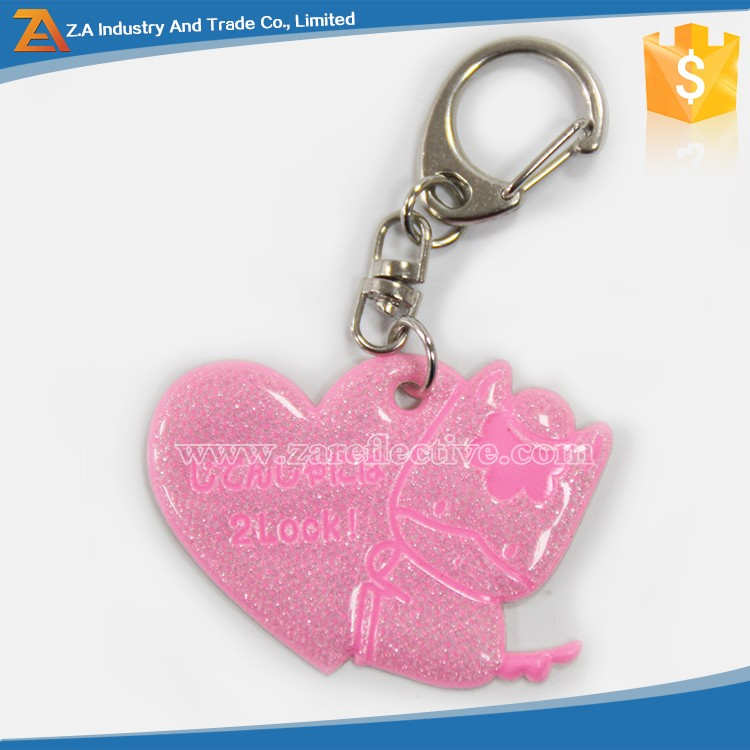 Safety Supplies !!! Reflective KEY Chain AS Promotion Gift