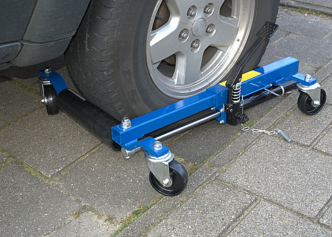 Gs Ce Approved Hydraulic Go Jack Vehicle Positioning Jack
