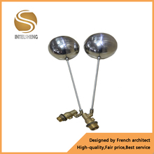 Brass floating ball valve with brass ball