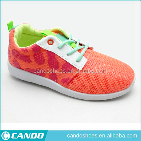sport shoes factory OEM customize logo girl sports running brand shoe sneaker