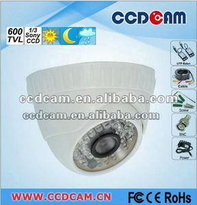 High Resolution 600TVL Cheap IR Dome camera