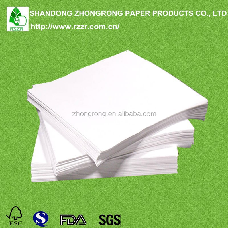 White pp laminated kraft paper for food packing