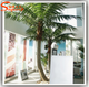 Latest design Indoor decoration plastic metal artificial trees fake coconut palm trees