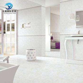 Textured Glossy Ceramic Wall Tile Office Floor Tiles Design