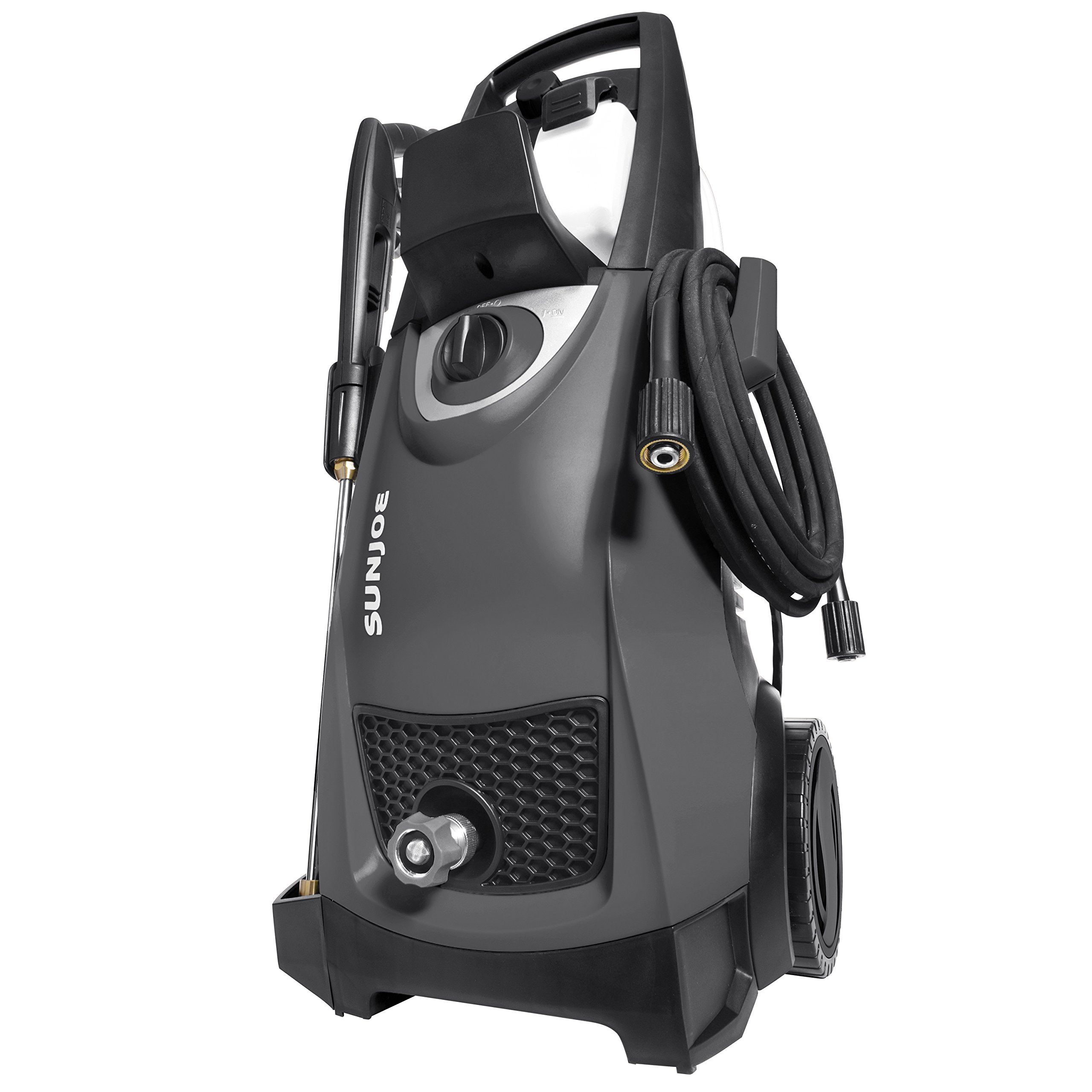 Snow Joe Sun Joe SPX3000-BLK Pressure Joe 2030 PSI 1.76 GPM 14.5-Amp Electric Pressure Washer, Black