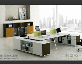 Ufficio Moderno Di Lusso : Mobili per ufficio moderno a forma di l scrivania workstation da