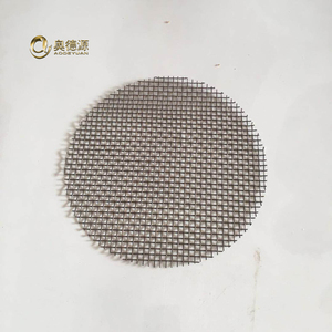 All specifications of Molybdenum wire screen / Molybdenum filter disc / disk