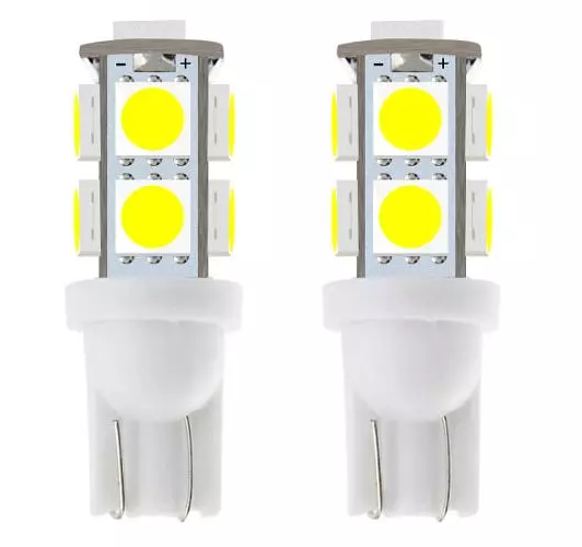 Auto+Lighting+System T10 Wedge 5050 9SMD LED W5w 197 LED Light BulbsCar Directional Light Tail Light 12V-24V