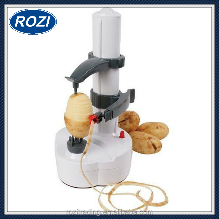 Electric Peeler Fruit Vegetable Apple Potato Skin Easy Peeler Auto Rotating