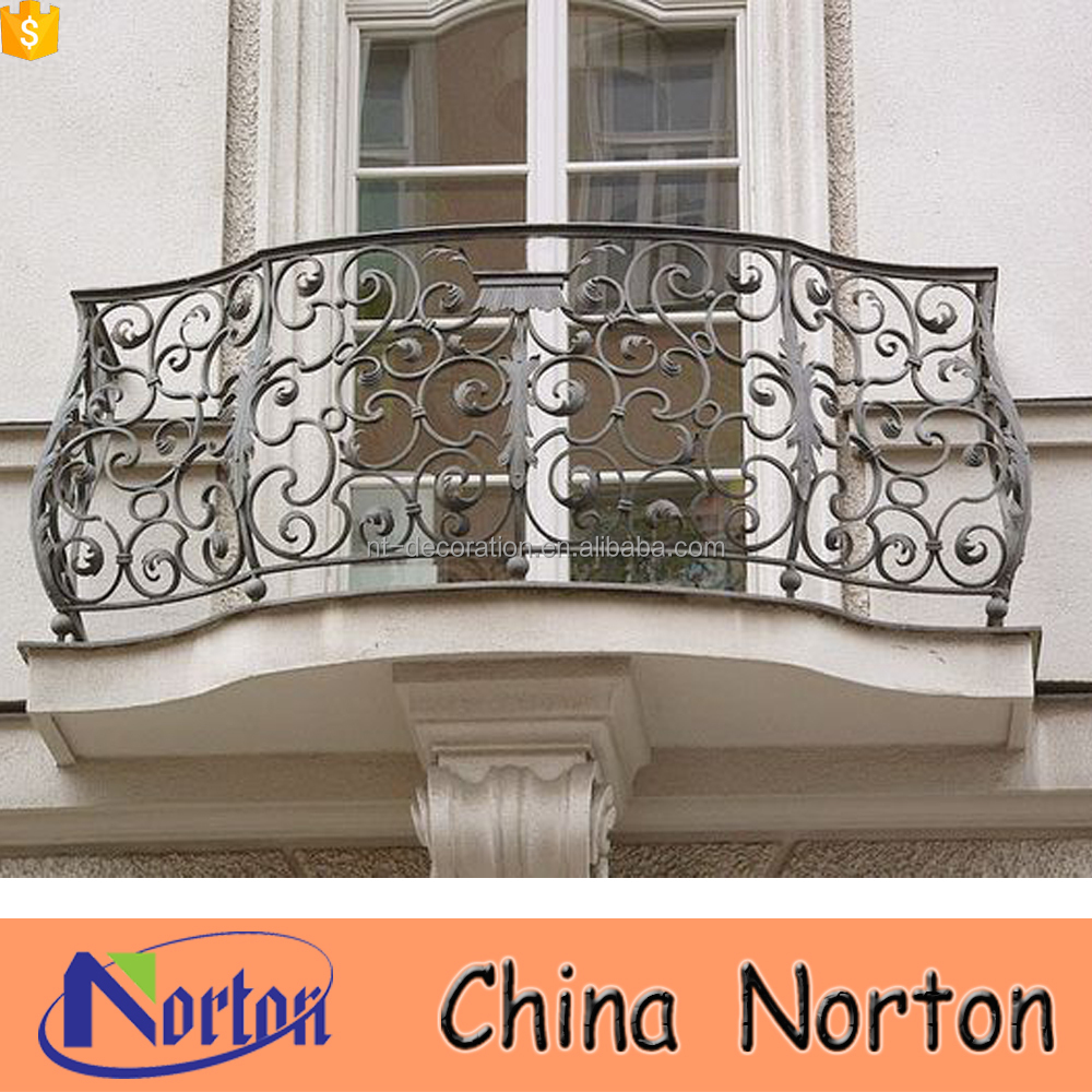 House Used Simple Iron Grill Design For Balcony Ntis 022a Wrought
