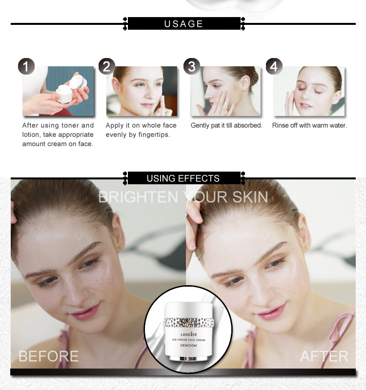 OEM face care nourishing cream for beauty