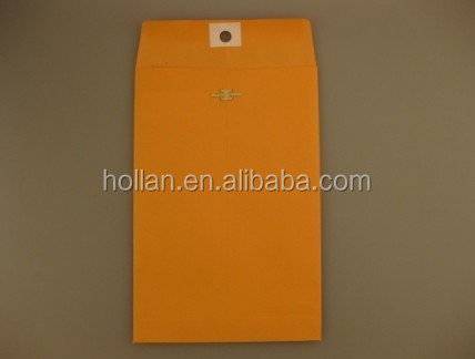 "6"" x 9"" 110g Yellow Clasp Paper Envelopes"