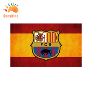 Custom Spain FCB Barcelona national Flag 3x5Ft With Grommets Football Team  Flag