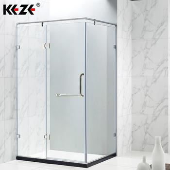Frameless Pivot Hinge Shower Door Small Aluminium Shower Sliding