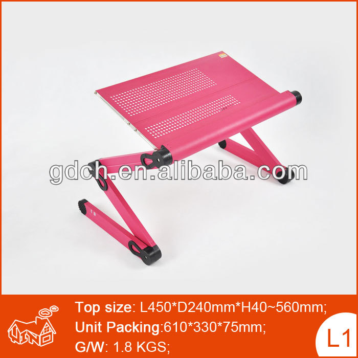 practicality designed, highly human-oriented laptop table foldable desk