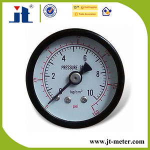 China Supplier Manometer Back Bottom Connection Bar Psi KG Pressure Cooker Gauge