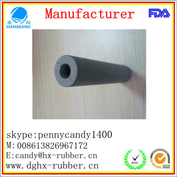 Dongguan factory customed silicone rubber grip for industry