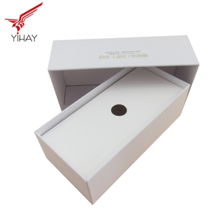 Free sample Cardboard paper box packing eyes glass with company logo printed