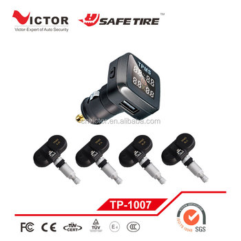 Newly Auto Parts Car Tire Pressure Monitoring System With Cigarette Lighter  Display Tpms Sensor - Buy New Car Tire Pressure Tpms Sensor,Hot Selling