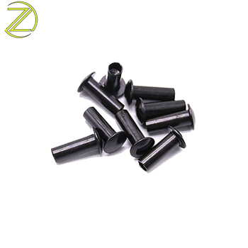 Custom aluminum black anodized rivets aluminium step rivets with ISO certification