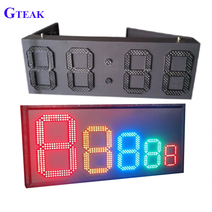 6 inch gas price 7 segment led display sign
