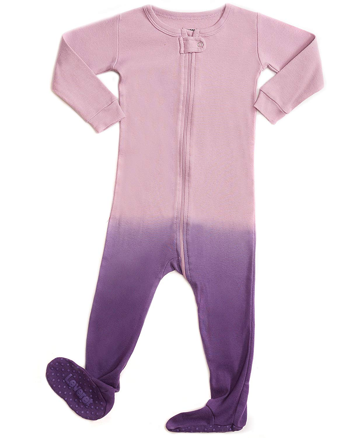 Get Quotations · Leveret Baby Boys Girls Footed Pajamas Sleeper 100% Organic  Cotton Kids   Toddler Pjs Sleepwear 26ad9164d