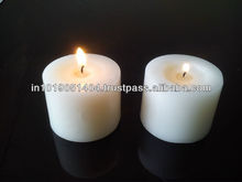 3x3 White Pillar Scented Candles Available in Different Fragnances